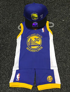 best service 22c2d 482cf Details about Kids Baby NBA Basketball Jersey Set Golden State Warrior #30  Stephen Curry