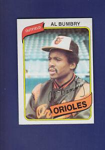Al-Bumbry-1980-TOPPS-Baseball-65-NM-Baltimore-Orioles