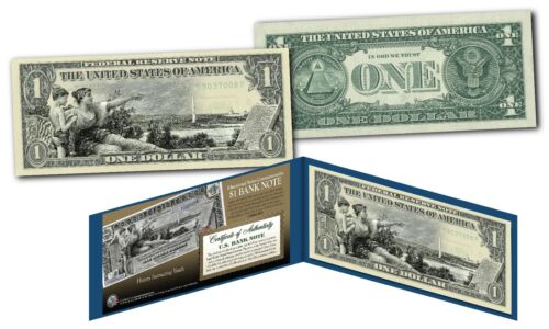 Set of all 3 EDUCATIONAL SERIES 1896 Designed NEW Legal Tender Bills $1//$2//$5