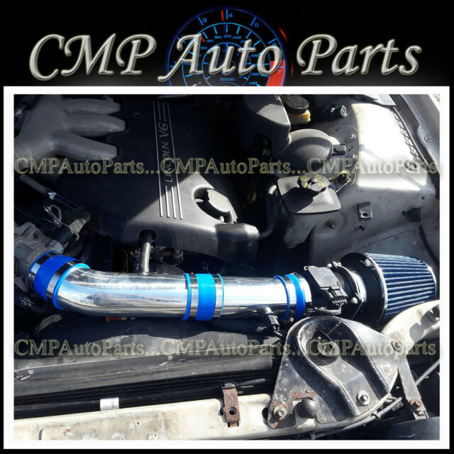 Blue Air Intake Kit Systems Fit 2000