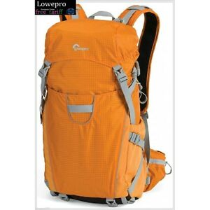 Orange-Lowepro-Photo-Sport-200-AW-Adventure-Backpack-Digital-SLR-Camera-Bag
