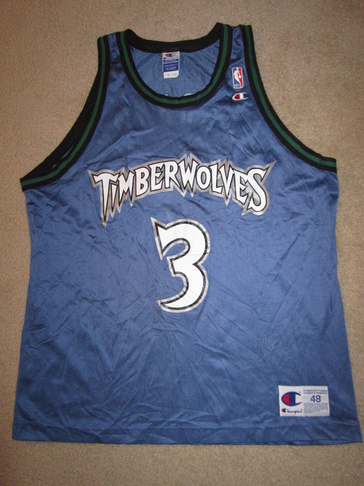 Stephon Marbury  3 Minnesota Timberwolves Champion Trikot 48 XL