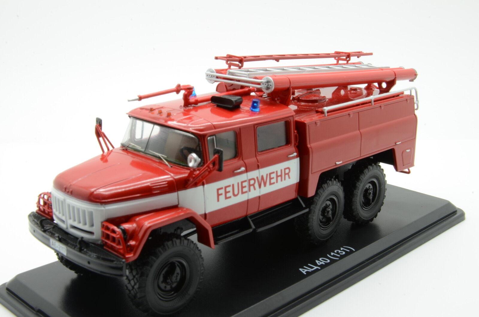 encuentra tu favorito aquí Muy RARO    ZIL ZIL ZIL 131 Atz-40 Feuerwehr camión de bomberos SSM Alemania USSR 1 43  connotación de lujo discreta