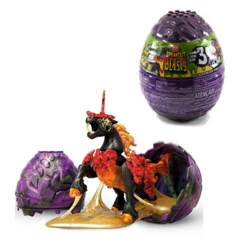 Mega Construx Breakout Beasts Series 3 Charcolt 73 Slime Egg New Unopened