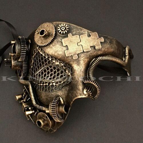 Steampunk design moderne Phantom Style Costume Fête Masque