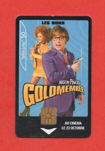 Telefonkarte - Austin Befugnisse - Golomember (A8335)