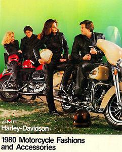 1980 Harley Davidson Motorcycle Parts Clothing Accessories Brochure Catalog Ebay