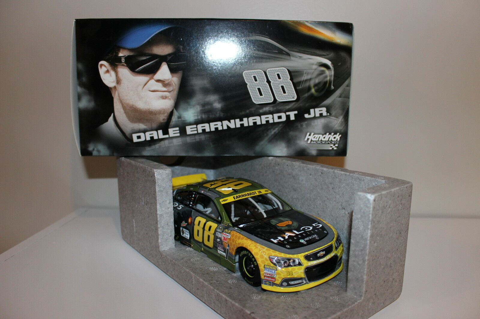 Dale Earnhardt Jr 88 2018 Halo 5 Chevy  Diecast-Case Lote de 6 Autos