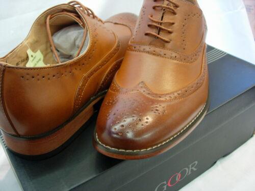 6 Doublé Cuir 12 11 À Hommes Taille Hommes Garçons Lacets 8 M14 En 9 5 Brogue Chaussure 7 10 UxYS7w04q
