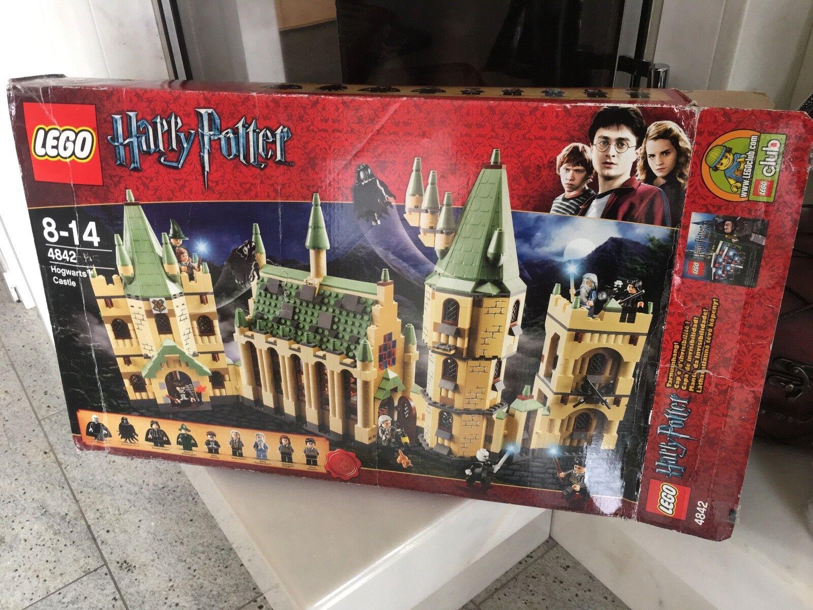 Lego Harry Potter Potter Potter 4842 castillo Hogwarts OVP 1234 piezas  ventas en linea