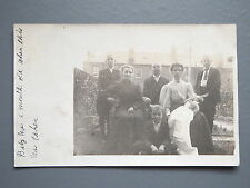 R&L Postcard: Edwardian Family Portrait, Catford, PU to Bluetown Sheerness