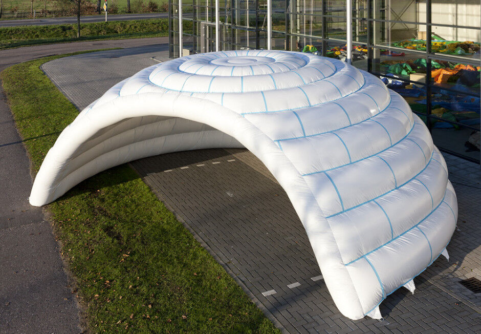 Inflatable Family Camping Recreation Dome Igloo  Tent W  Blower BRAND NEW  cheap