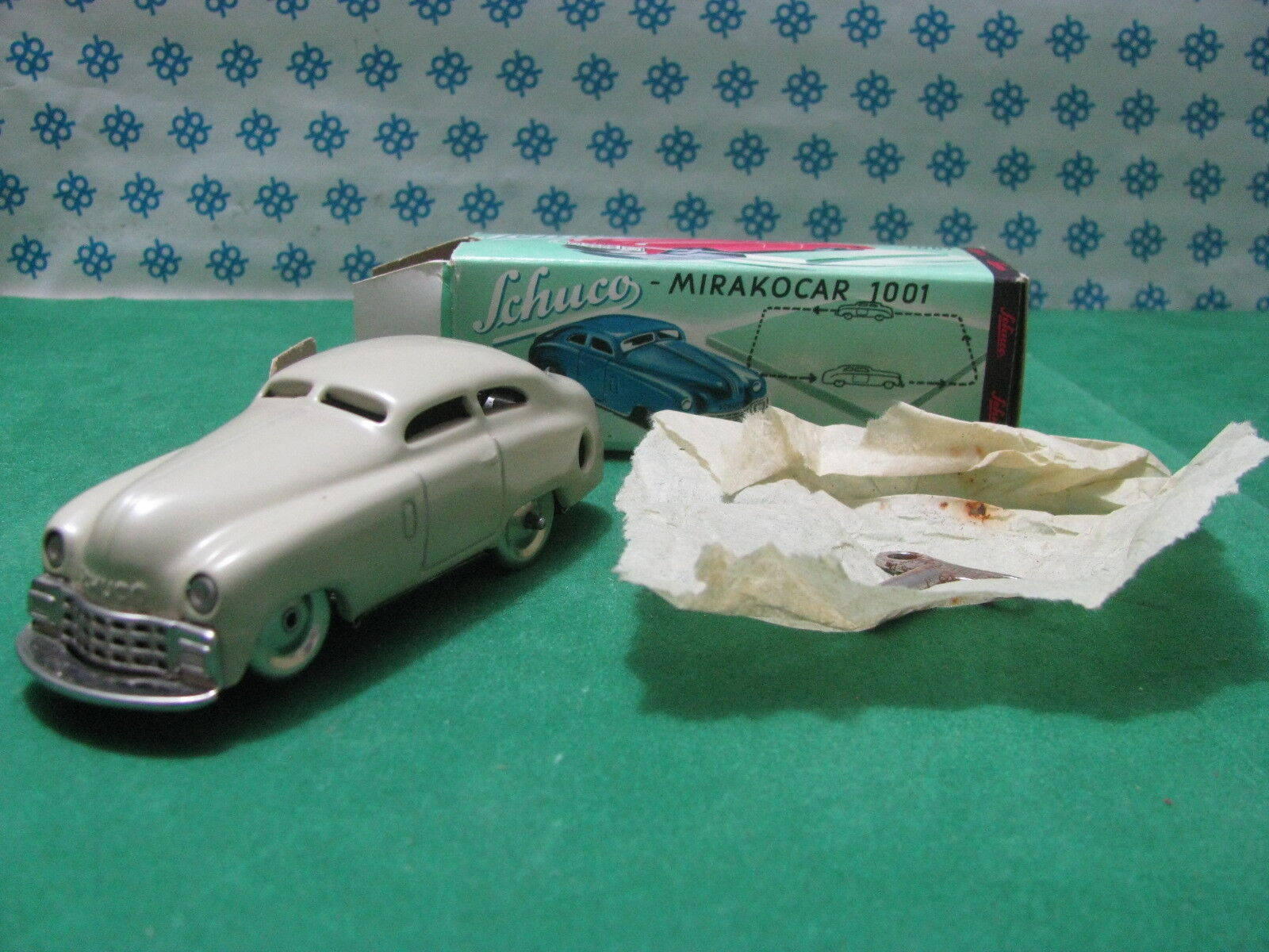 Vintage Tin Toy Schuco Mirakocar 1001 - Western Germany Anni 50 -