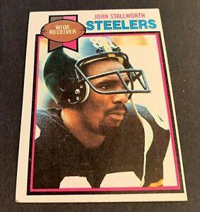 1979 Topps Football #450 John Stallworth - Steelers