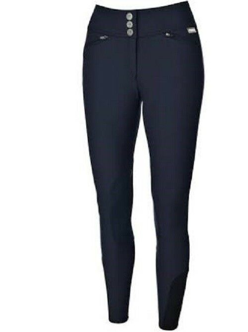New  Pikeur Spring   Summer Full Seat Grip Breech  Nightbluee  Size 12 40