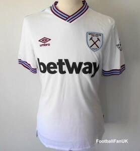West Ham Utd umbro officiel away football shirt 2019-2020 Homme JERSEY UNITED