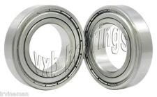 Set Of 2 Z0009 Pair Sealed Miniature Ball Bearings Bore Diameterid10mm