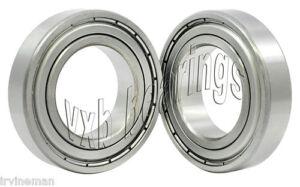 2 Bearing 4x8x3 Hybrid Ceramic Stainless Shielded VXB