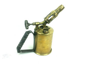 Rare-Primus-No-841-Blowlamp-Rare-Brass-Collectable-Blow-Lamp-Torch