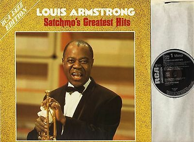 LOUIS ARMSTRONG satchmo's greatest hits CL 89799 german rca 1986 LP PS EX+/EX