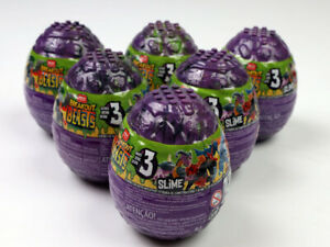 Lot of 6-Mega Construx Breakout Beasts Series 3 Slime Egg NEW SEALED