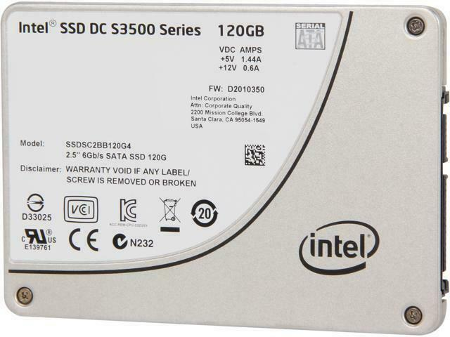 "SSD 2.5"" Intel SSD DC S3500 Series 120GB SSDSC2BB120G4 SATA"