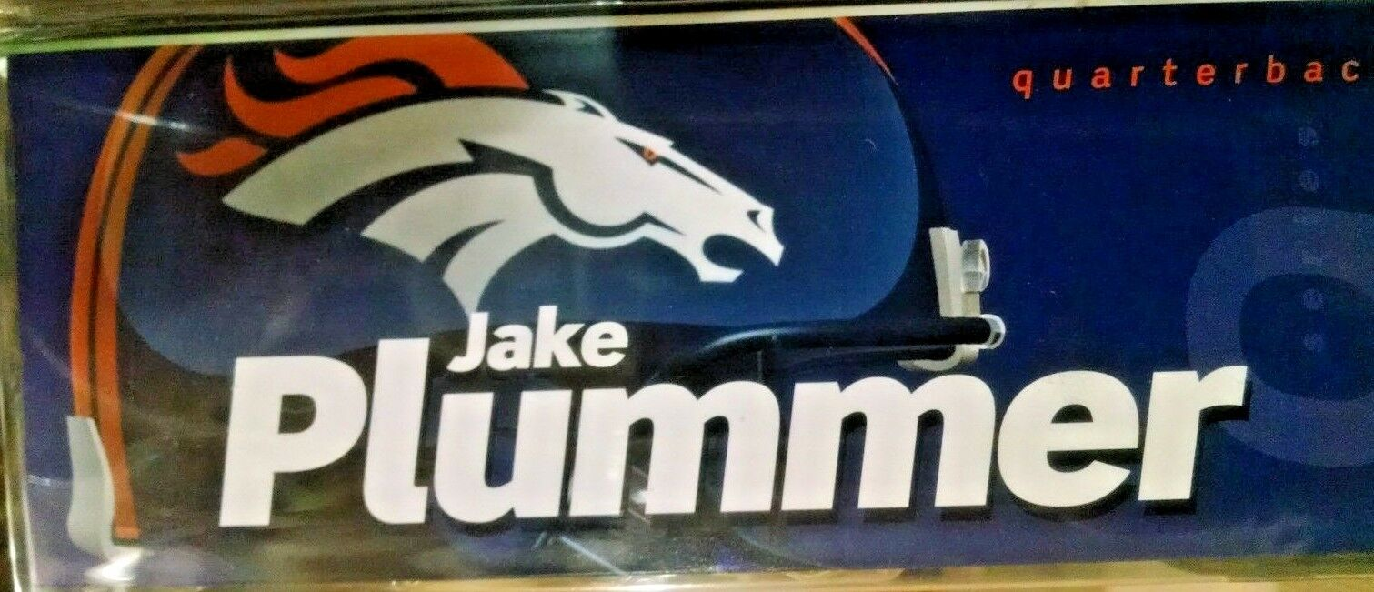 2004 McFarlane Football Series 9 Jake Plummer White Variant action action action Figure c2abec