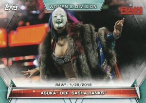 2019-Topps-Wwe-Femmes-Division-Cartes-a-Collectionner-64-Asuka