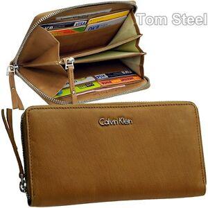 5ed61c0ede03ea Das Bild wird geladen CALVIN-KLEIN-Damen-Geldboerse-Brieftasche-Portemonnaie -Geldbeutel-Geldtasche-