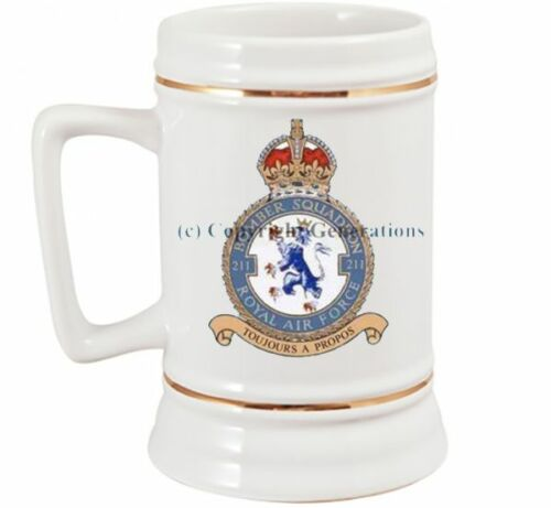 ROYAL AIR FORCE 211  SQUADRON BEER STEIN