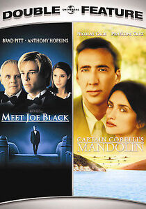 Meet-Joe-Black-Captain-Corelli-039-s-Mandolin-Double-Feature-DVD