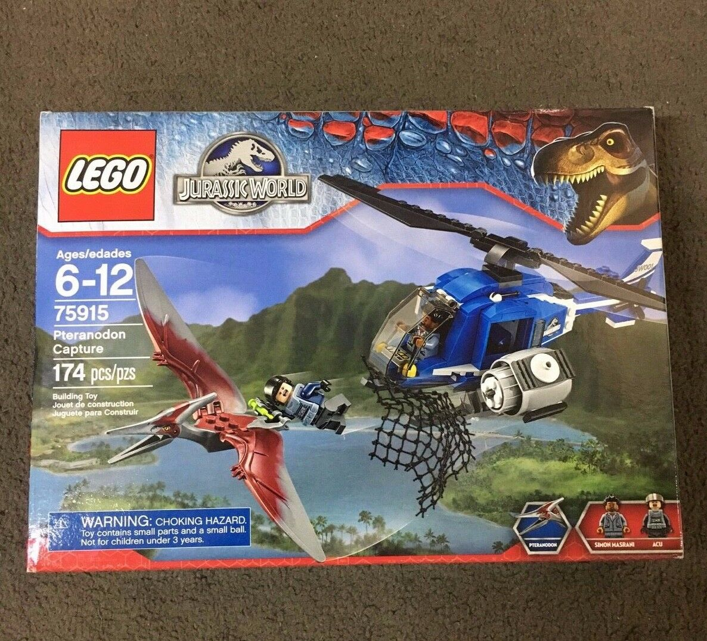 LEGO Jurassic World   Park Pteranodon Capture (75915) - Brand New Set Retired