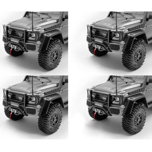 Metal Front Bumper with Light für TRAXXAS TRX-4 TRX-6 Benz 4X4 6X6 G63 G500 Teil