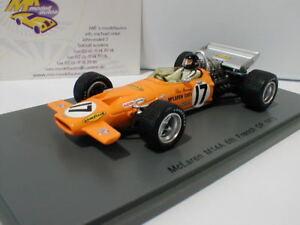 Spark-s4844-mclaren-m14a-No-17-6th-French-gp-1970-Dan-Gurney-1-43