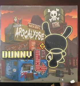 Huck-Gee-Kidrobot-Post-Apocalypse-Dunny-Series-3-034-New-Sealed-Case