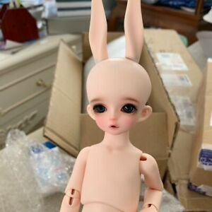 1//6 Bjd Doll SD Girl Asia Free Face Make UP+Eyes-animal body
