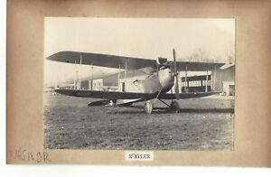 2-PHOTOS-AVION-BIPLAN-RUMPLER-amp-BIPLAN-ALBATROS-WWI-GUERRE-1914-1918