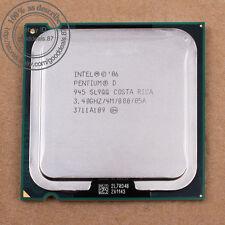 Intel Pentium D 945 - 3.4 GHz (BX80553945) 775 SL9QQ SL9QB CPU Prozessor 800 MHz