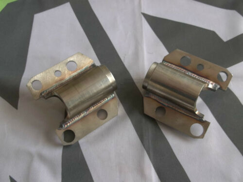 MGF MG F 2x Reforzadas Delanteras Y Traseras Subframe Soportes De Acero Inoxidable Pernos Trasero