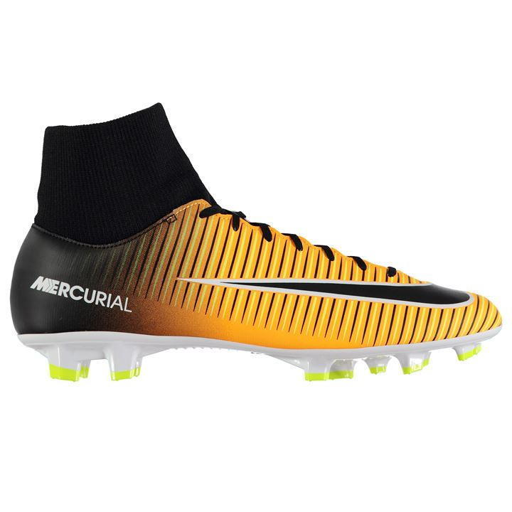NIKE Boys Orange Orange Orange JR Mercurial Victory VI FG Football Stiefel Größe UK 4.5 BRAND NEW b069d1