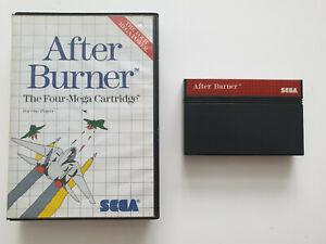 After Burner für Sega Master System - PAL - in OVP