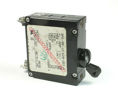 BA1-B0-22-450-211-D 50//60 Hz Carling Switch Circuit Breaker 5A 250v