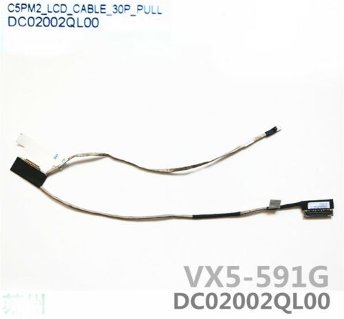 New Acer Aspire VX5-591G VX15 LCD Video Display Cable 50.GM1N2.008 DC02002QL00