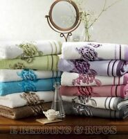 Luxury Embroidered Belvoir 100% Egyptian cotton Towel