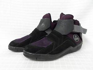 euc vtg rollerblade metroblade suede classic 90s inline skate shoes