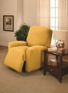 Image Is Loading 034 Compare Prices Yellow Recliner Cover Also