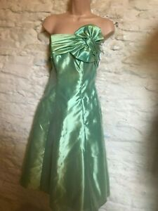 Occasion Apple Bnwt Dress £186 Green Size Rrp 10 Prom Evening Party wdwx6rXq