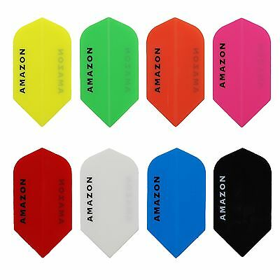 Extra Tough in Plain Red 5 Sets of Amazon Originals Darts Flights