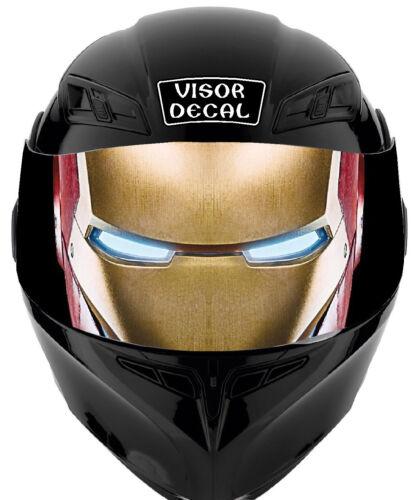 V11 Iron VISOR TINT DECAL Helmet UNIVERSAL Fits All Sport Bike Helmet