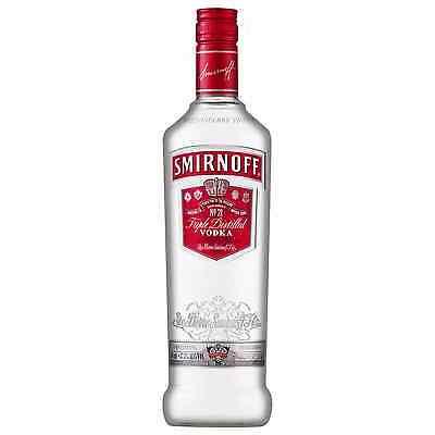 Smirnoff Red Label Vodka 700mL bottle